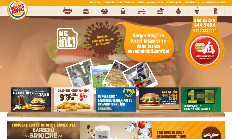 Burger King Kupon Kodu: %10