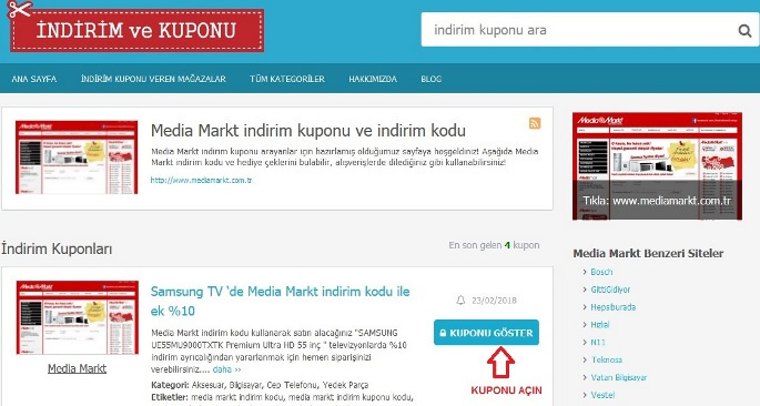 media markt indirim kuponu black friday